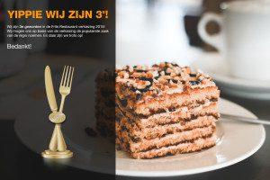 Winnaar Frits Restaurant Verkiezing 2015